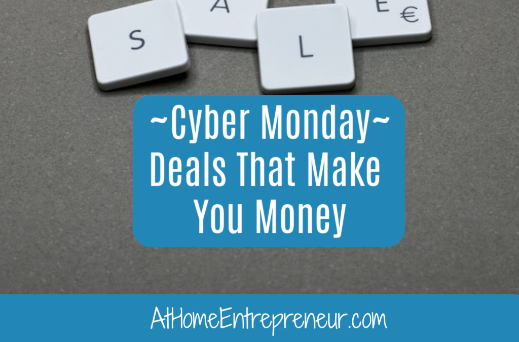 Cyber Monday- Deals That Make You Money
