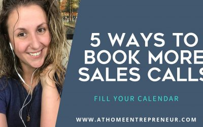 5 Ways To Book More Sales Calls