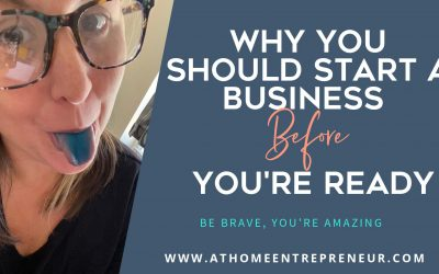 Why You Should Start A Business Before You're Ready